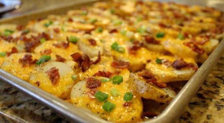 Esistono molti modi per cucinare le PATATE, ma nessuno è semplice e squisito come questo!
