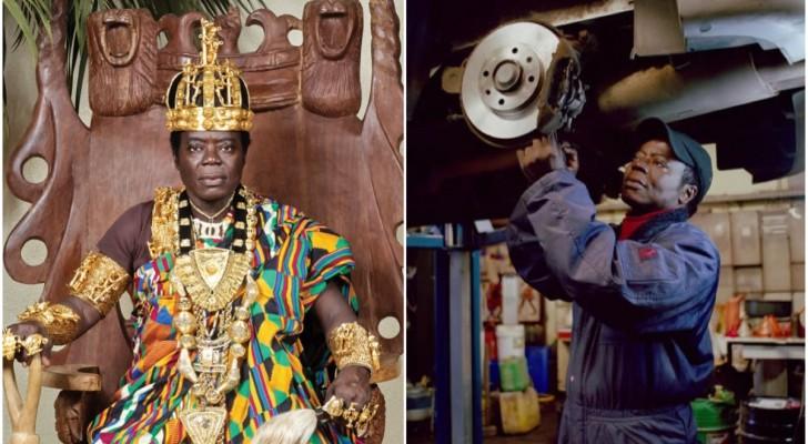 Deze Afrikaanse Koning Werkt Als Monteur En Regeert Over Zijn Volk Via Skype