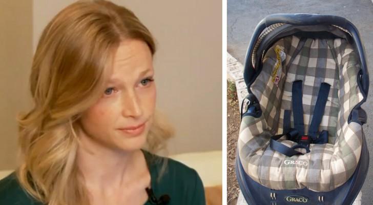 Laat je kindje NOOIT rechtop zitten in een autostoel: deze vrouw legt uit waarom