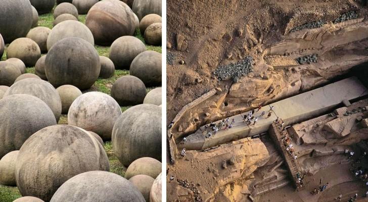 Alcune scoperte archeologiche enigmatiche che custodiscono segreti indecifrati