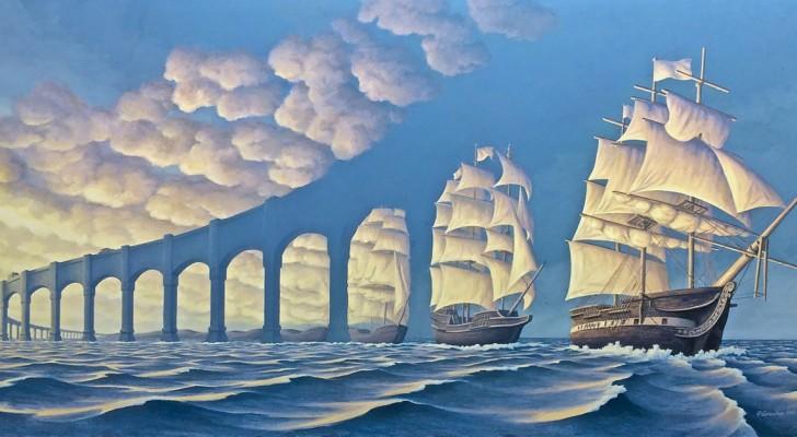 25 optische illusie die je perceptie van de werkelijkheid zullen verstoren