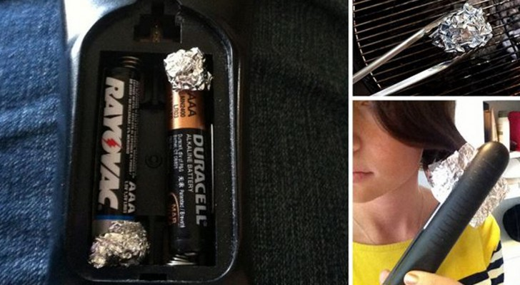 Stijlen, strijken, schoonmaken... 17 onverwachte manieren waarop je aluminiumfolie ook kunt gebruiken