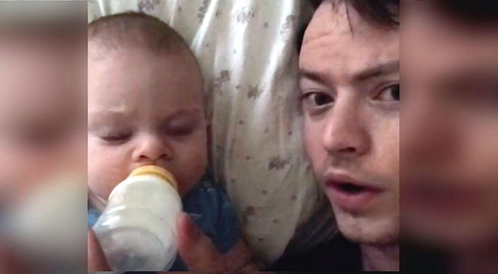 The mother leaves the baby at home ... When dad sends her this dubsmashed video, she is SPEECHLESS!