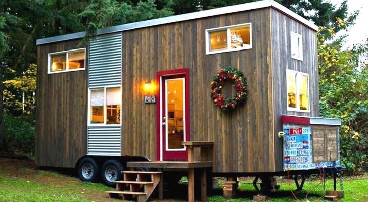 Elle achète une vieille caravane et la transforme en une maison parfaite pour passer ses vieux jours