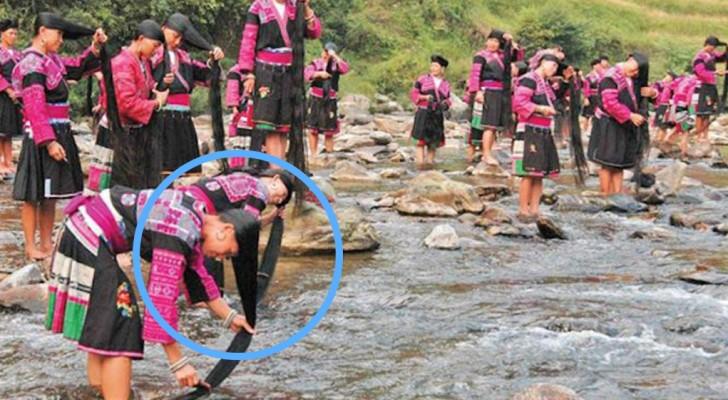Il villaggio cinese in cui vivono le donne con i capelli più lunghi del mondo