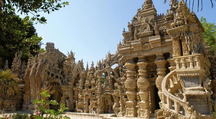 Un postino francese colleziona pietre per 33 anni: ecco il suo magnifico progetto