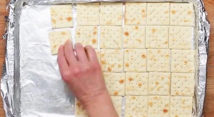 Já imagimou fazer um doce com biscoito água e sal?