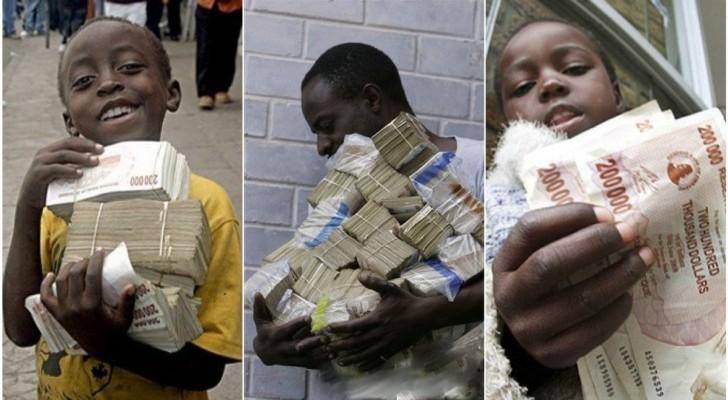 Un pacco di uova costa 100 milioni: ecco a voi i milionari più poveri del mondo