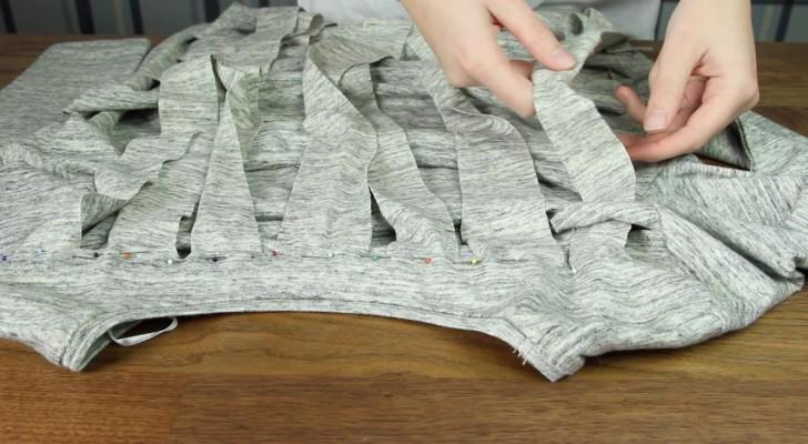 Es Sieht So Aus Als Wurde Sie Ihr Shirt Einfach So Zerschneiden