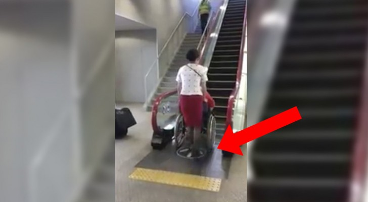 Japan eliminates a problem for people in wheelchairs...with an ingenious idea!