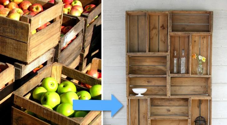 Molto Creare Una Libreria Con Le Cassette Della Frutta? È Più Facile Di  YN01