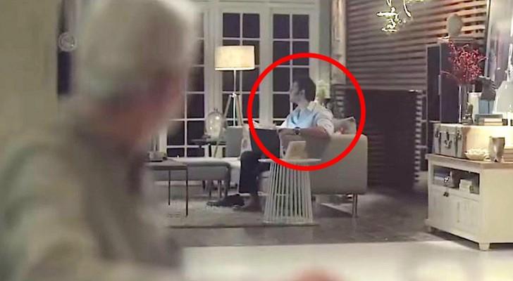 Il voit son gendre assis dans un fauteuil, et réalise une chose qui va le rendre amer