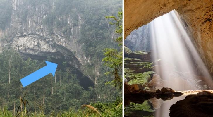 Un paysan découvre sans le savoir la plus grande grotte du monde: son intérieur est magnifique