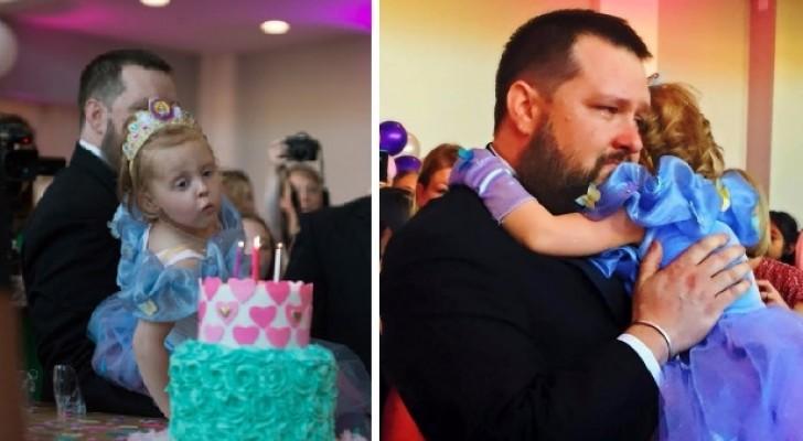 Pour son dernier anniversaire, les parents décident de lui offrir la fête de ses rêves
