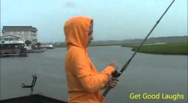 Qui a dit que pêcher est ennuyeux?