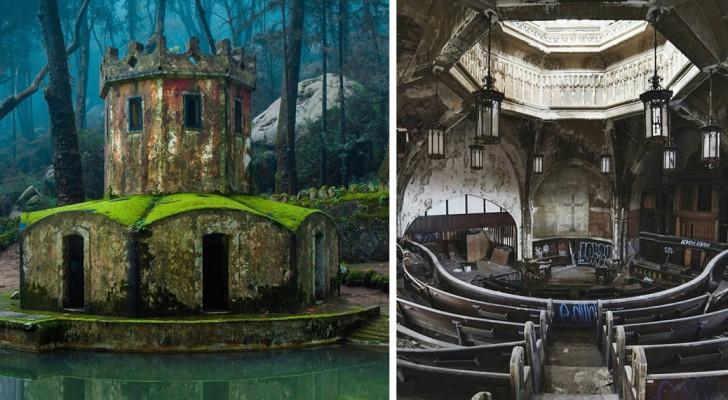21 photos de superbes endroits inexplicablement abandonnés à jamais