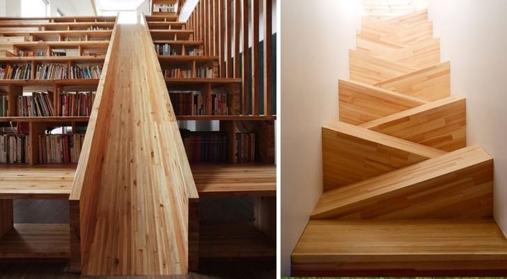 Queste scale sono talmente assurde che non vedrai l'ora di percorrerle