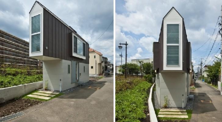 Er Was Te Weinig Ruimte Om Een Huis Te Bouwen, Maar Een Architect Vond Toch Een Oplossing