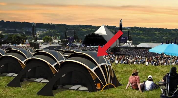 Ecco come questa speciale tenda può rivoluzionare l'idea di campeggio