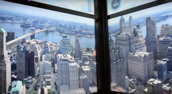 515 years in a few seconds --- The elevator ride in the third tallest skyscraper in the world is spectacular!
