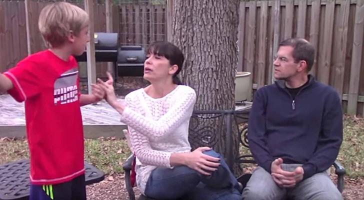 Son fils l'interrompait toujours, mais elle va apprendre une astuce simple qui peut aider TOUS les parents