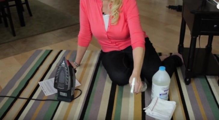 voici comment enlever toutes les taches de tapis sans utiliser la machine laver et sans. Black Bedroom Furniture Sets. Home Design Ideas