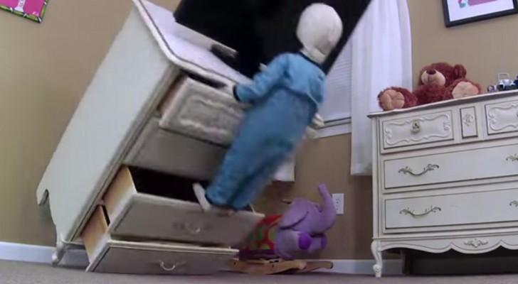 Un enfant meurt écrasé par un meuble IKEA: la réponse de la société concerne tous les parents