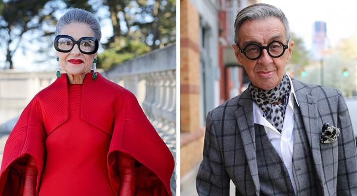Una fotografa ritrae i nonni più eleganti del mondo e dimostra che lo stile non ha età