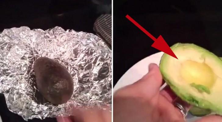 Aprenda como fazer amadurecer um abacate acerbo em somente 10 minutos