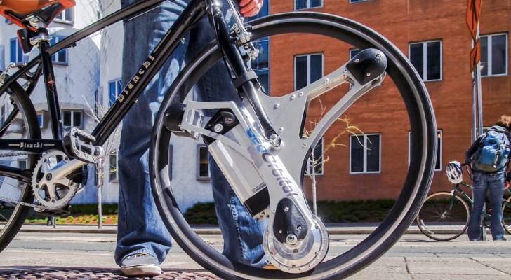 Eine Erfindung, die ein altes Rad in ein schnelles und bequemes Fortbewegungsmittel verwandelt