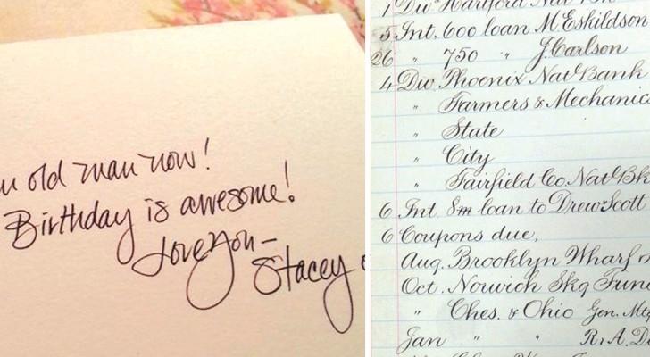Calligrafie perfette: ecco come la lista della spesa può diventare un'opera d'arte