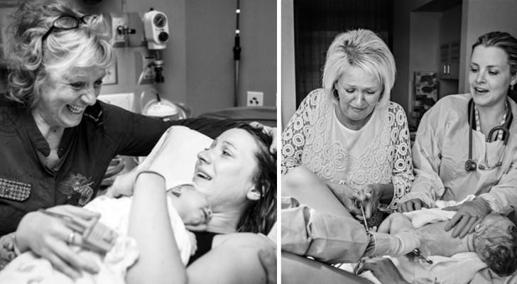 43 images puissantes de mères aux côtés de leurs filles pendant le moment le plus important de leur vie