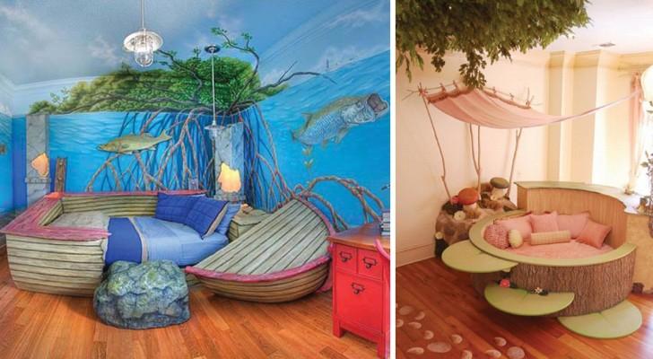 Ecco alcune tra le camerette più fantasiose mai realizzate: per un'infanzia... da favola!