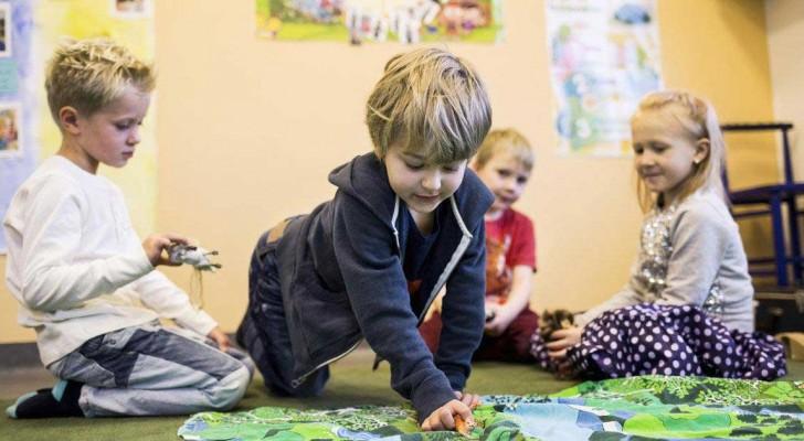 En Finlande, les enfants n'apprennent pas à lire avant l'âge de 7 ans. Folie? Rien à voir!