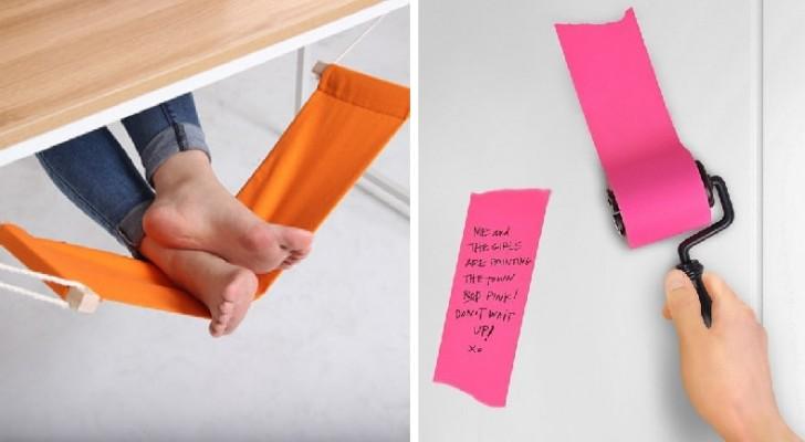 17 inventions pour le bureau qui rendront votre travail beaucoup plus facile et amusant