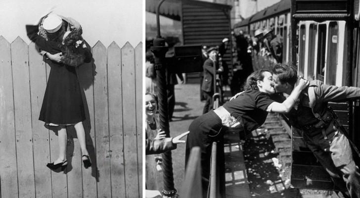 Elkaar een kus geven wetende dat het de laatste ooit zou kunnen zijn: dit is wat liefhebben in tijden van oorlog betekende