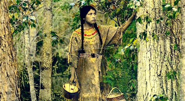 Un homme trouve des photos en couleur d'il y a 100 ans: voici les Indiens d'Amérique comme vous ne les avez jamais vus