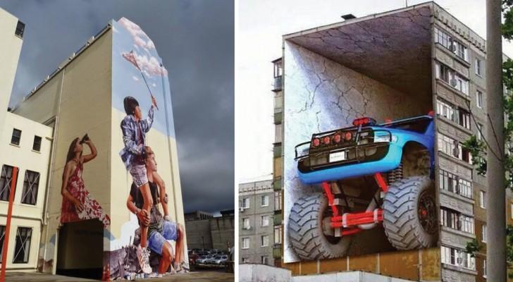 14 capolavori di street art così realistici da togliere il fiato
