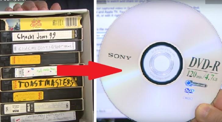 Voici comment transférer tous vos vidéos VHS sur DVD à la maison et sans dépenser une fortune!