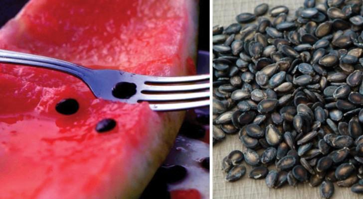 Gooi je watermeloenpitten altijd weg? Dan ben je je vast niet bewust van hun ongelooflijke eigenschappen!