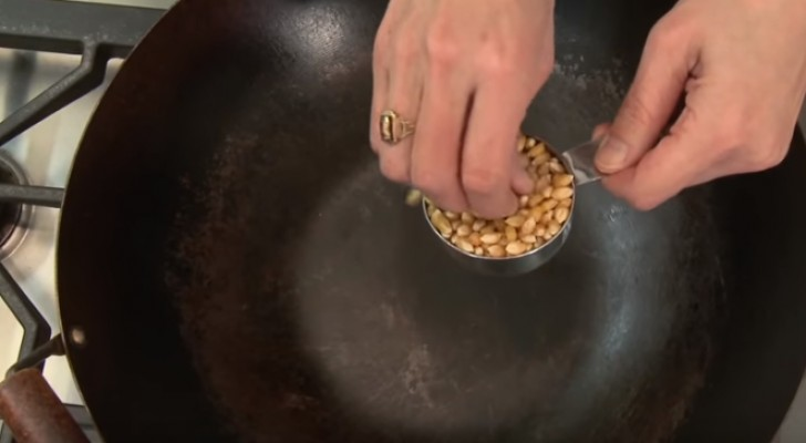 Here is the ultimate trick for making popcorn --- Use a wok!