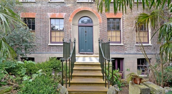 Malplaquet House, das Londoner Haus, das seit 1895 nicht bewohnt ist, und in dem die Zeit stehen geblieben ist
