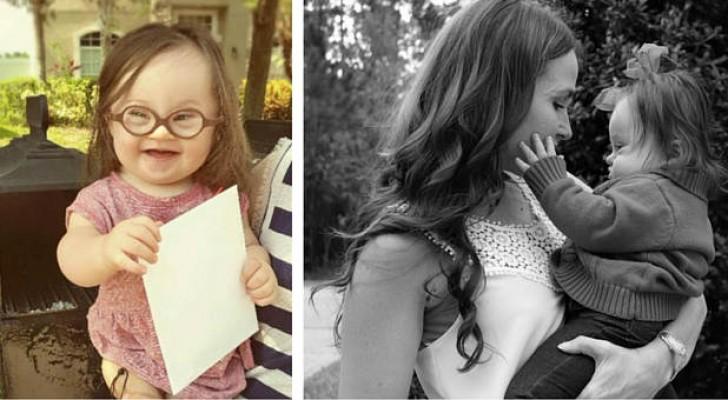 Ein Arzt empfiehlt ihr abzutreiben: 15 Monate später schicken sie und ihre Tochter ihm diesen Brief
