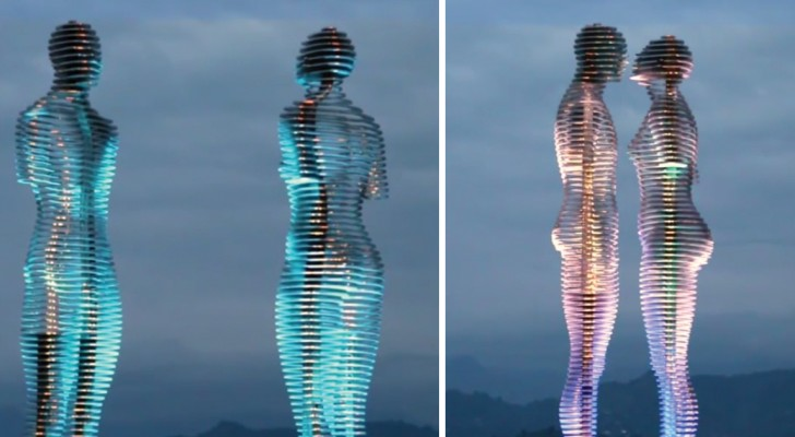 Todos os dias estas estátuas trazem uma emoção única: veja o que acontece todos os dias as 19 em ponto!