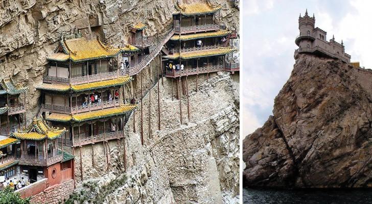 Follie dall'antichità: alcuni dei luoghi più assurdi in cui l'uomo è riuscito a costruire