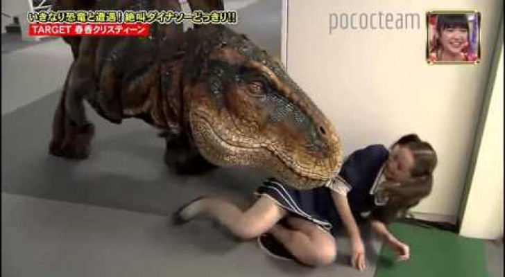 Chased by a T-Rex