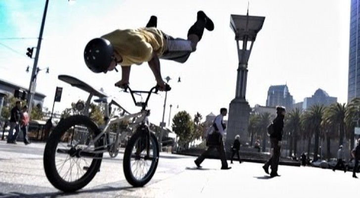 Bike Parkour in San Francisco