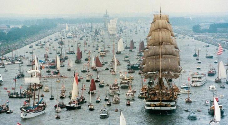 Le plaisir des yeux à Amsterdam: voici la plus grande régate du monde