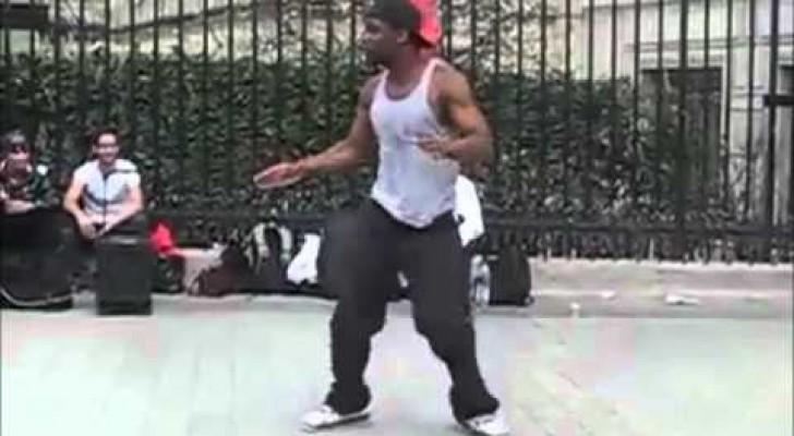 Impressionante Street Dancer!