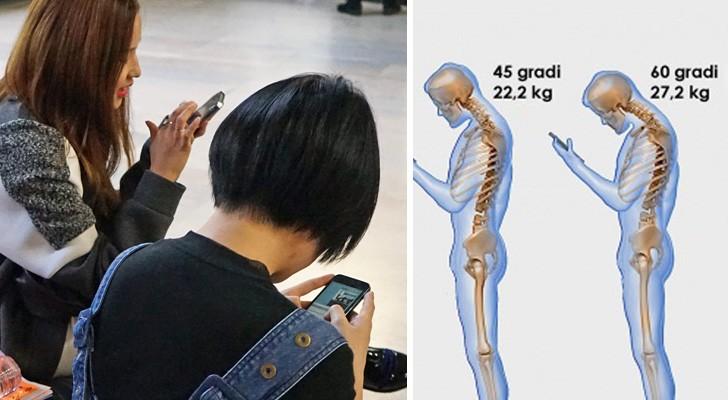 Vous regardez tout le temps votre téléphone? Voilà ce que vous faites endurer à votre colonne vertébrale...
